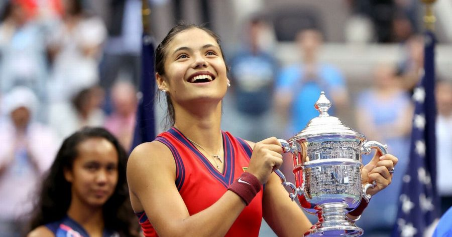 A Teenager Wins the US Open Tennis Competition